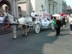 Princess Carriage Parked at Jackson Square